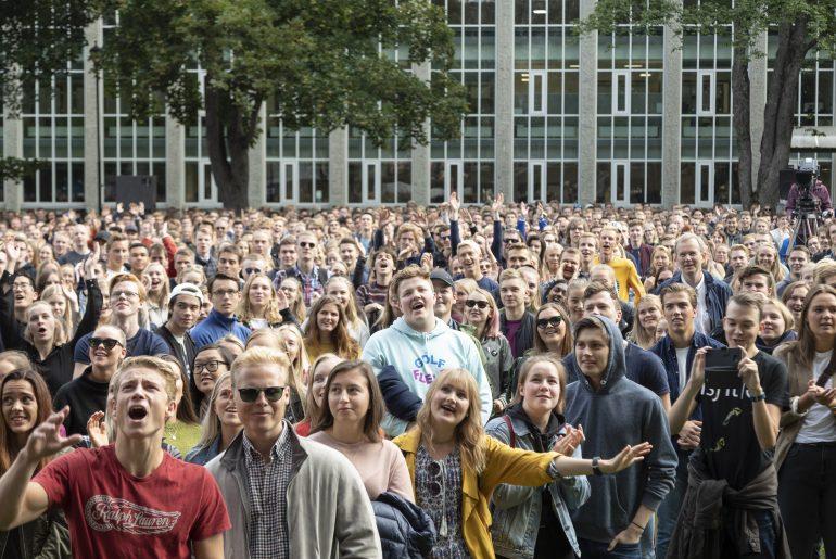 Studenter ved NTNU
