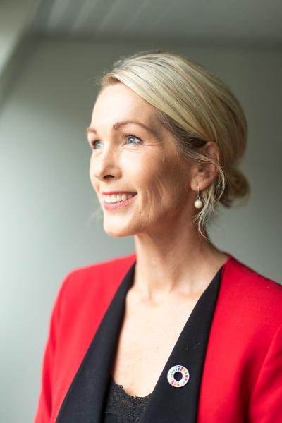 Anita Krohn Traaseth. (Foto: Martin Skulstad)