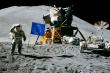 Månelanding med EU-flagg
