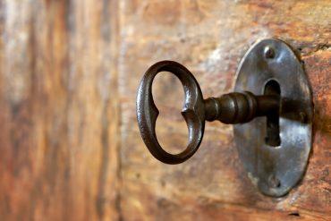 Nøkkel i lås