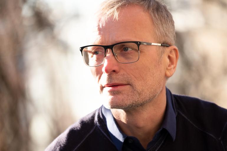 Arne Flåøyen fotografert av Martin Skulstad