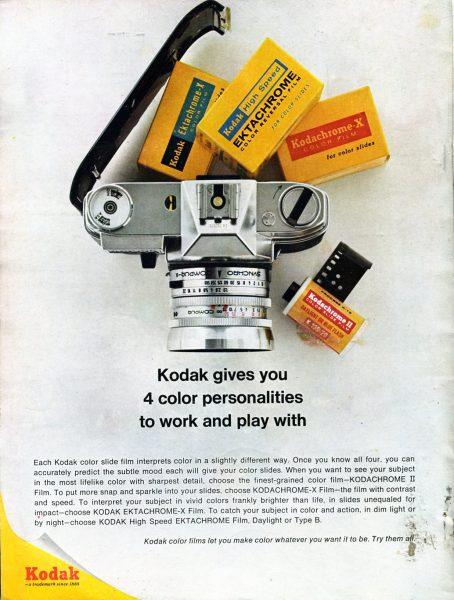 Annonse for Kodak kamera.