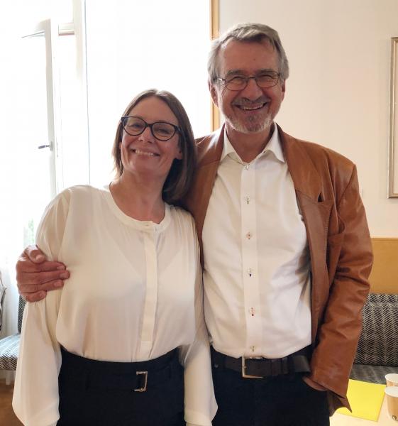 Taran Thune og Jan Fagerberg