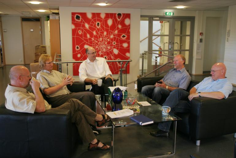Bilde av ansatte i NIFU STEP
