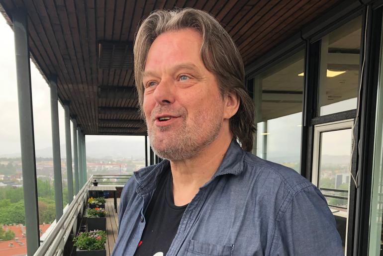 Johan Hauknes, foto: P Koch