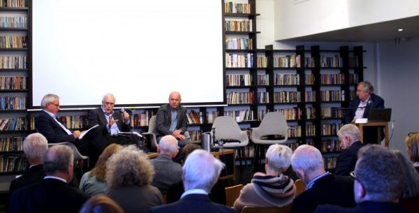 Prof Øystein Hov, Prof Torbjørn Digernes, Kyrre Lekve and Prof Matthias Kaiser