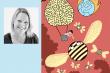 Elisabeth Moseng har tegnet forsiden til siste nummer av Forskningspolitikk.