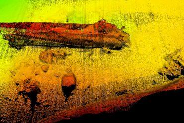 sonarbilde av ubåten