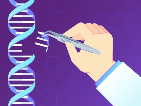 Drawing illustrating CRISPR
