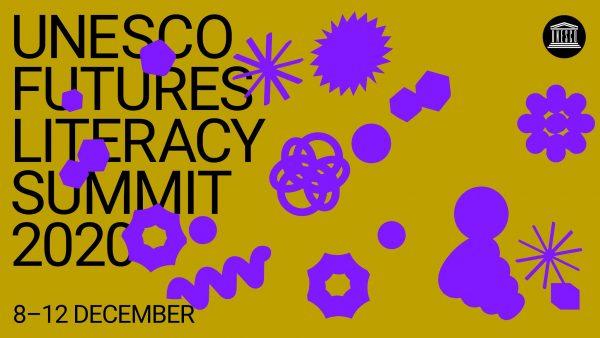 Banner for UNESCOs ministerkonferanse om futures literacy