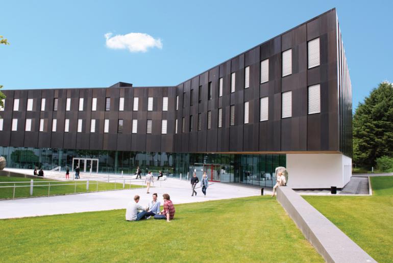 Bilde av Elise Ottesen sitt hus på Universitetet i Stavanger