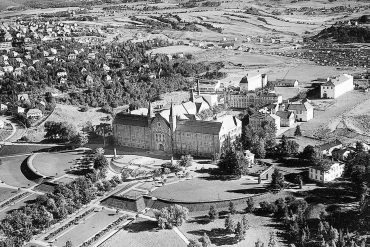 Fra Gløshaugen 1952