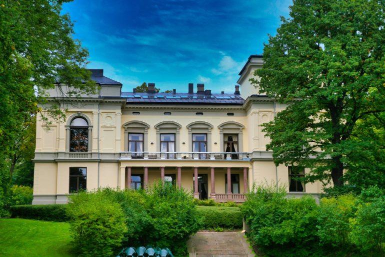 Vitenskapsakademiets hage. Foto Hans A. Rosbach CC