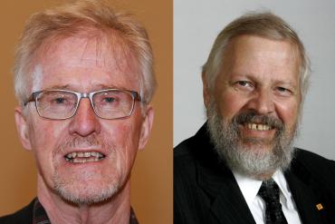 Gudmund Hernes og Jon Lilletun, foto Jarvin/wikmedia CC og Stortinget